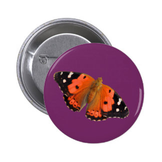 Kamehameha butterfly design buttons and badges