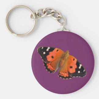 Kamehameha butterfly design keychains