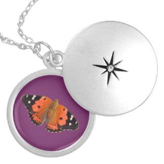 Kamehameha butterfly design lockets