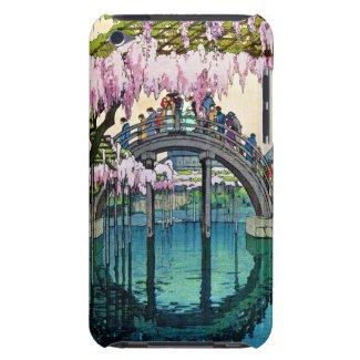 Kameido Bridge by Hiroshi Yoshida shin hanga iPod Touch Cases