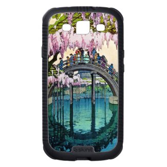 Kameido Bridge by Hiroshi Yoshida shin hanga Galaxy S3 Cases