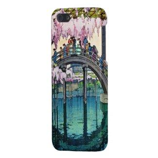 Kameido Bridge by Hiroshi Yoshida shin hanga iPhone 5 Covers