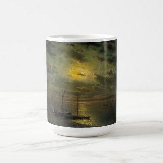 Kamenev's Moonlit Night On The River Coffee Mug