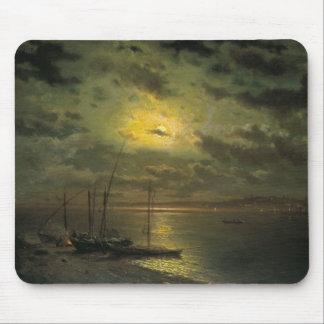 Kamenev's Moonlit Night On The River Mouse Pad