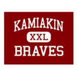 Kamiakin - Braves - High - Kennewick Washington Postcard