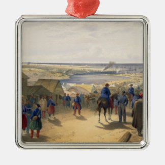 Kamiesch, plate from 'The Seat of War in the East' Metal Ornament