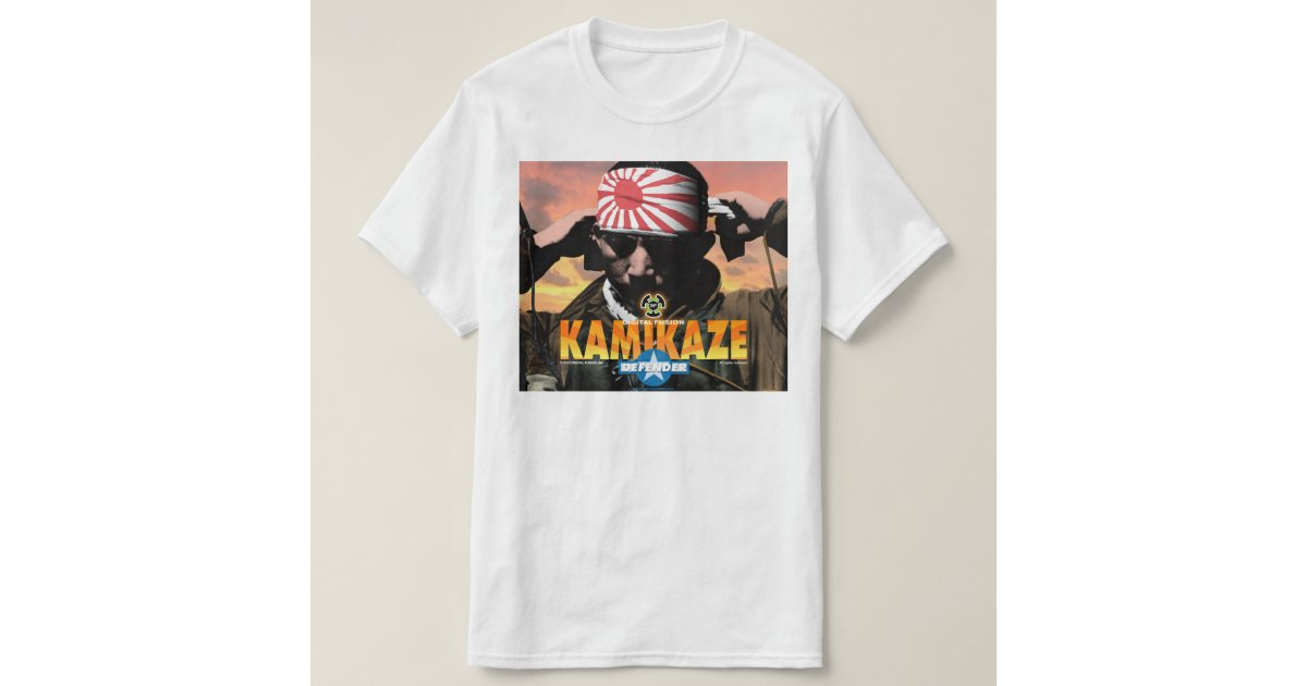 Kamikaze app t shirt zazzle Apps to design t shirts