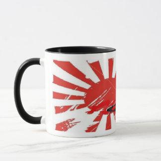 Kamikaze Bomber Japanese Rising Sun Flag Mug