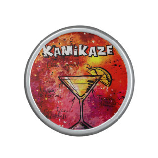 Kamikaze cocktail inspired Bumpster speakers