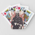 Kamikaze del cráneo baraja cartas de poker