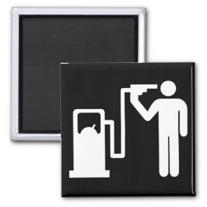Kamikaze fuel addict magnet