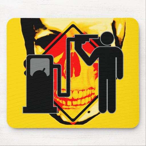 Kamikaze fuel addict mouse pad