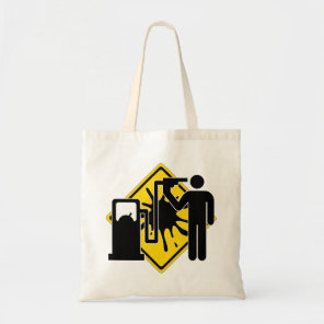Kamikaze fuel addict tote bag
