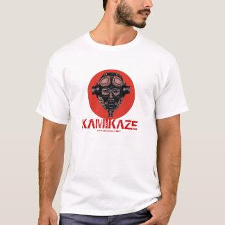 Kamikaze pilot cool graphic art t-shirt design