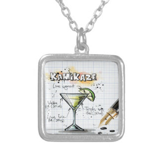 Kamikaze Silver Plated Necklace