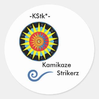 Kamikaze Strikerz Sticker 2