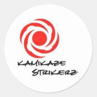 Kamikaze Strikerz Stickers