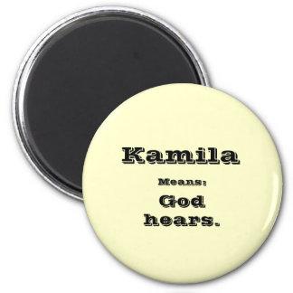 Kamila 2 Inch Round Magnet