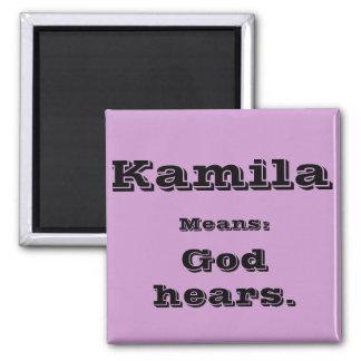 Kamila 2 Inch Square Magnet