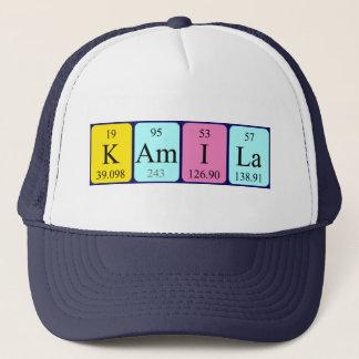 Kamila periodic table name hat