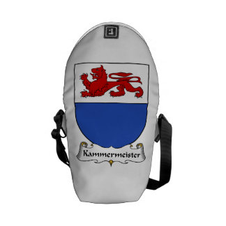 Kammermeister Family Crest Courier Bags