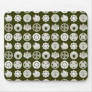 kamon pattern2 mouse pads