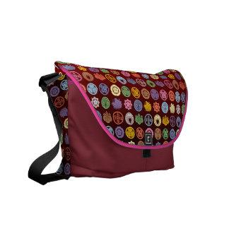 kamon pattern4 bolsas de mensajería