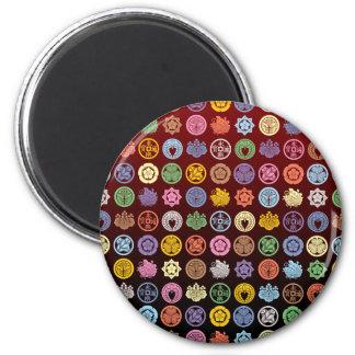 kamon pattern4 refrigerator magnet