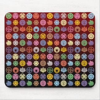 kamon pattern4 mouse pads