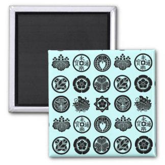 kamon pattern magnets