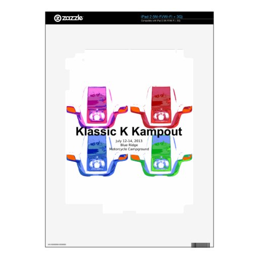 Kampout VI 2013 de Klassic K iPad 2 Skins