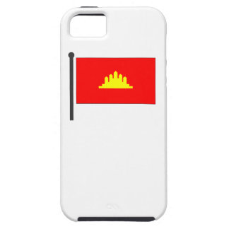Kampuchea Flag iPhone 5 Cases