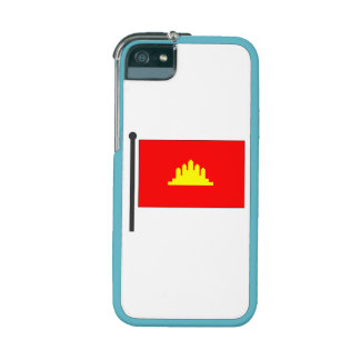 Kampuchea Flag iPhone 5/5S Cases