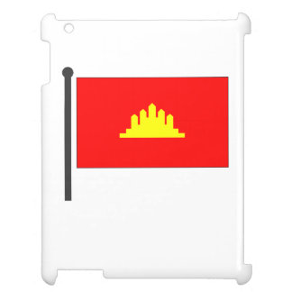 Kampuchea Flag Cover For The iPad