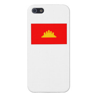 Kampuchea Flag Cases For iPhone 5