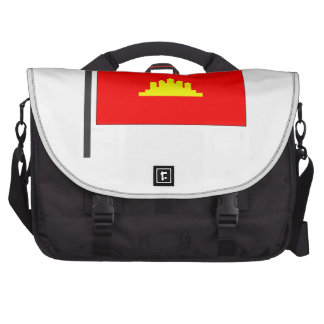 Kampuchea Flag Bags For Laptop