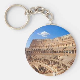 [KAN.K] .JPG Italia-Roma--antiguo-collosseo Llavero Redondo Tipo Pin