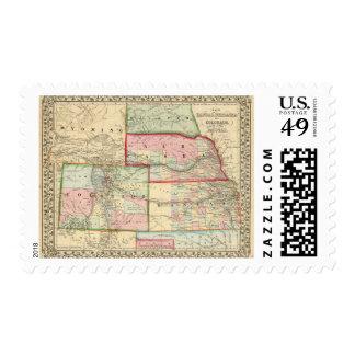 Kan, pico, mapa de Colo de Mitchell Envio
