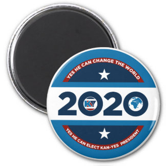 Kan -Yes He Can 2020 Magnet