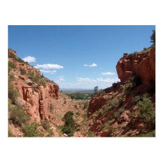 Kanab, Utah as seen from Squaw Trail Postcard