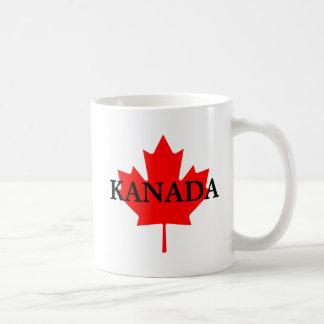 Kanada Classic White Coffee Mug