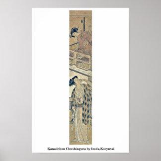 Kanadehon Chushingura por Isoda, Koryusai Poster