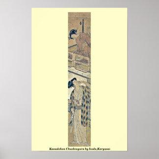 Kanadehon Chushingura por Isoda, Koryusai Posters