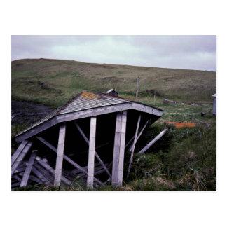 Kanaga Fox Farm Ruins Postcard