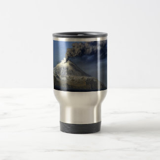 Kanaga Volcano, Kanaga Island, Aleutians 15 Oz Stainless Steel Travel Mug