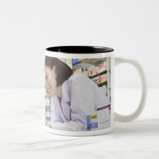 kanagawa, Japan 2 Two-Tone Coffee Mug