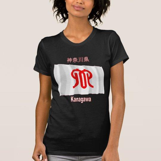 Kanagawa Prefecture Waving Flag T-Shirt
