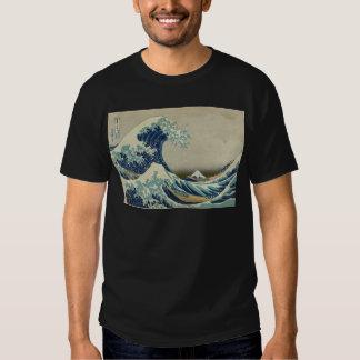 Kanagawa Wave by Katsushika Hokusai Shirt