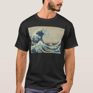 Kanagawa Wave by Katsushika Hokusai T-Shirt
