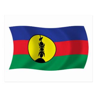 Kanak People Flag Postcard